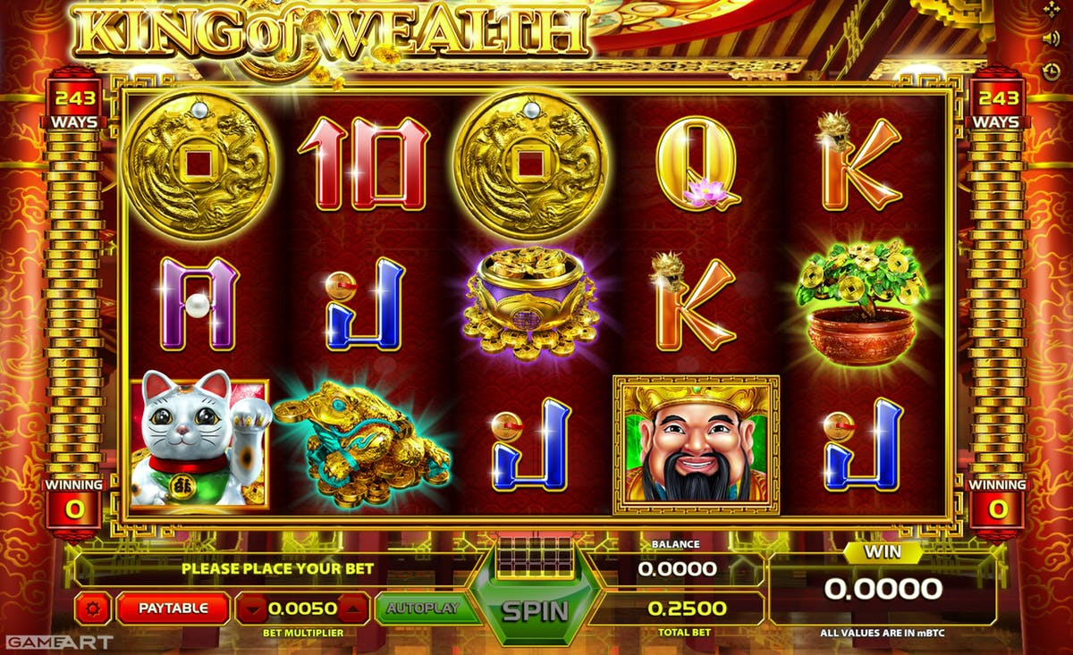 wealth themed slots